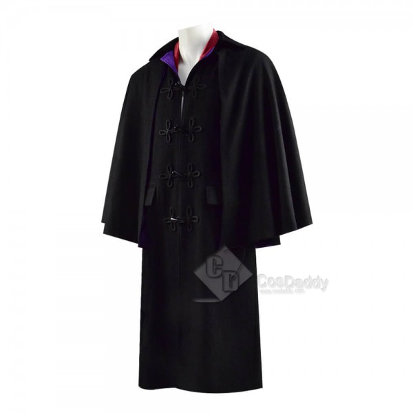 Doctor Who Third 3rd Doctor Cape Cloak Red Jacket Coat Cosplay Costume