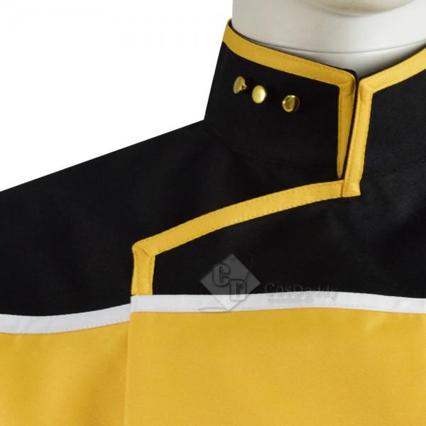 Star Trek Lower Decks Red Blue Yellow Uniform Unisex Cosplay Costume