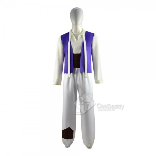 CosDaddy Kids Adults Disney Aladdin Aladdin Cosplay Costume
