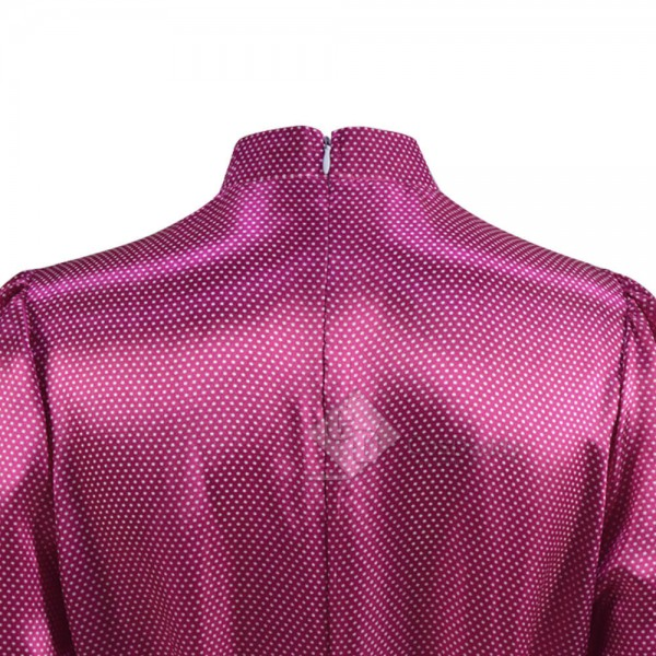 The Crown Season 4 Princess Diana Pink Dress Cosplay Costume