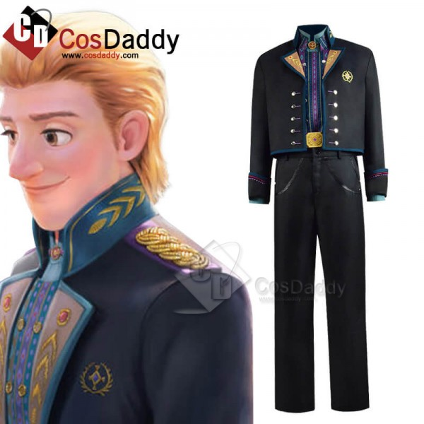 CosDaddy Frozen 2 Kristoff New Edition Cosplay Cos...