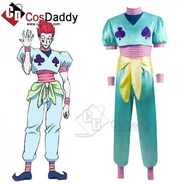 New Edition Hunter X Hunter Hisoka Morow Cosplay C...
