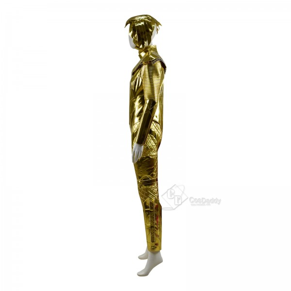 CosDaddy DC Wonder Woman 1984 Diana Prince Golden Eagle Armor Cosplay Costume