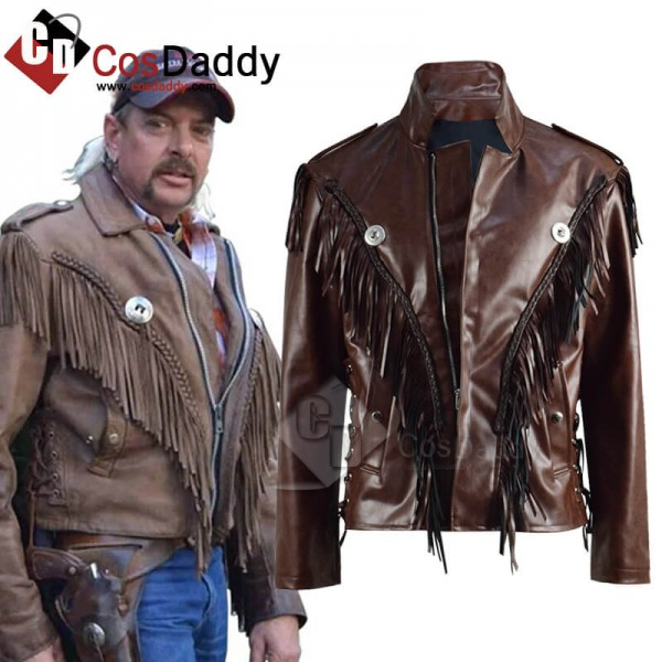 CosDaddy Tiger King Joe Exotic Jacket Cosplay Cost...