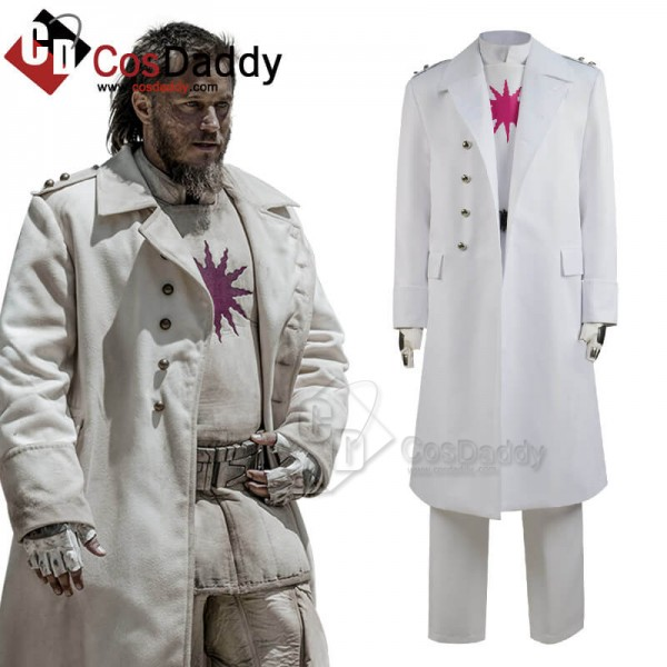 Raised By Wolves Marcus White Trench Coat Cosplay ...
