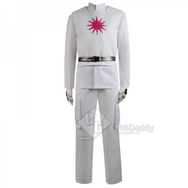 Raised By Wolves Marcus White Trench Coat Cosplay Costume Full Set
