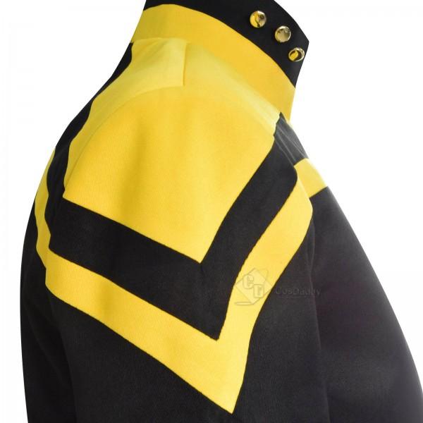 Star Trek: Picard Raffi Musiker Cosplay Costume Uniform Badge Full Set