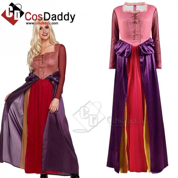 CosDaddy Hocus Pocus Sarah Sanderson Dress Cosplay...