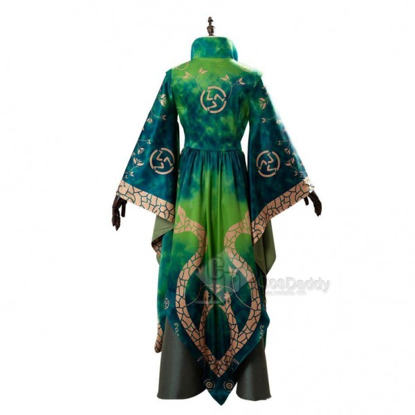 New Version Women Hocus Pocus Winifred Sanderson Dress Outfit Cosplay Costume For Sale
