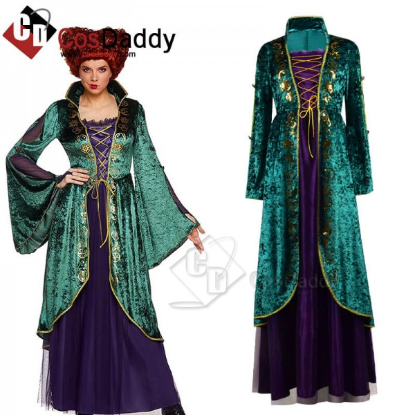 Best Hocus Pocus Deluxe Winifred Sanderson Dress O...