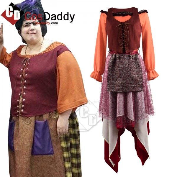 Hocus Pocus Mary Sanderson Dress Halloween Carniva...