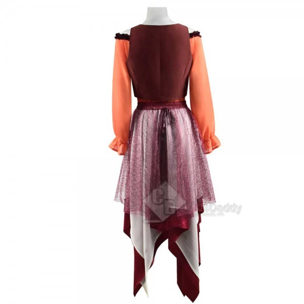 Hocus Pocus Mary Sanderson Dress Halloween Carnival Cosplay Costume For Sale