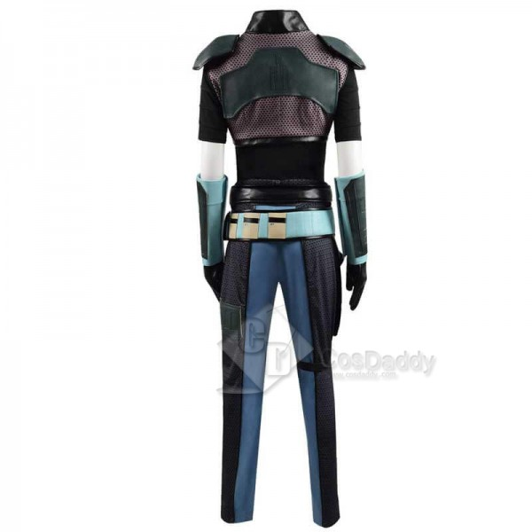 Star Wars: The Mandalorian Cara Dune Cosplay Costume Shirt Pants Full Set
