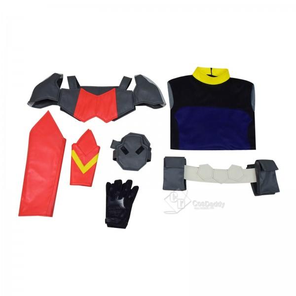 Deathstroke: Knights & Dragons Slade Wilson/Deathstroke Jumpsuit Cosplay Costume Deluxe Full Set
