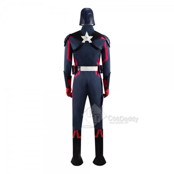 CosDaddy The Falcon And The Winter Soldier Captain America Full Set Outfit Cosplay Costume