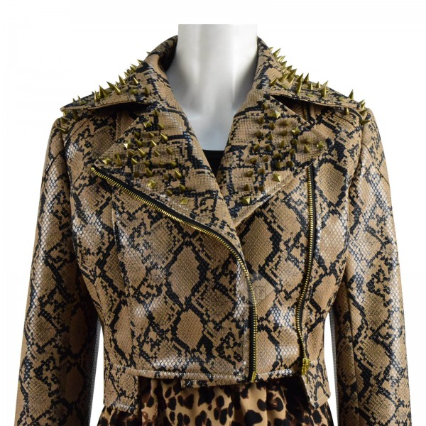 CosDaddy DC Wonder Woman 1984 Cheetah Jacket Full Set Cosplay Costume For Sale