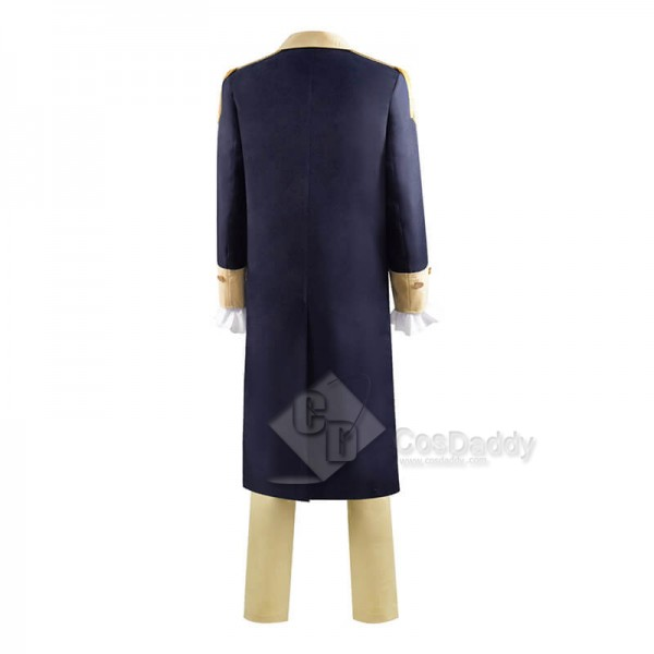 Best Historical Figure George Washington Colonial Cosplay Costume Long Coat Uniform Outfit CosDaddy