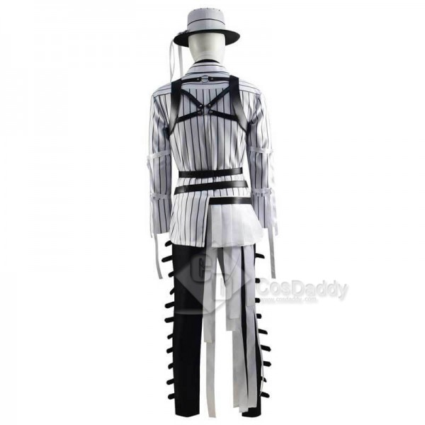 CosDaddy Disney Twisted Wonderland Octavinelle Azul Ashengrotto Scary Suit Outfit Cosplay Costume
