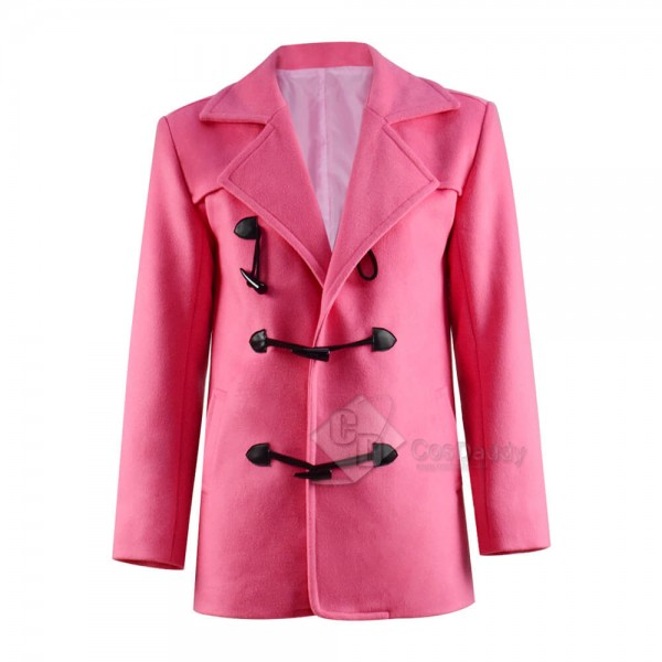 A Fairly Odd Christmas Timmy Turner Pink Coat Cosplay Costume For Adults
