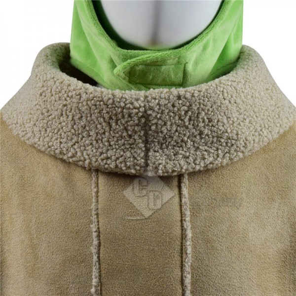 Star Wars The Mandalorian Baby Yoda Coat Outfit Cosplay Costume For Sale