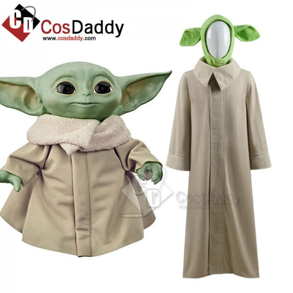 New Version Star Wars The Mandalorian Baby Yoda Co...