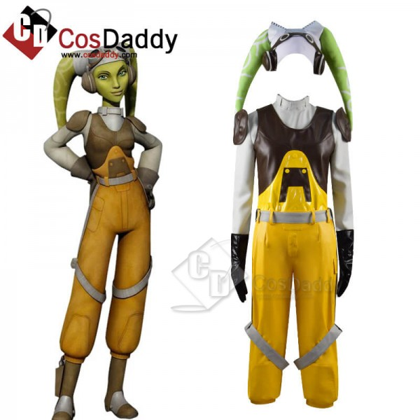 CosDaddy Star Wars Rebels Hera Syndulla Suit Outfi...