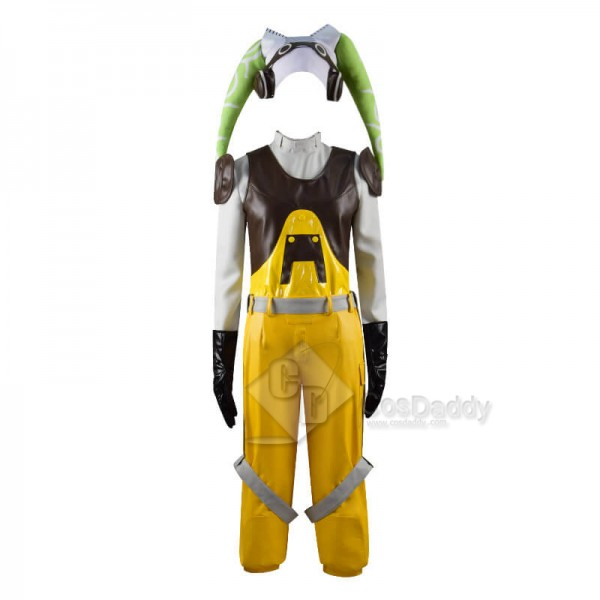 CosDaddy Star Wars Rebels Hera Syndulla Suit Outfit Cosplay Costume