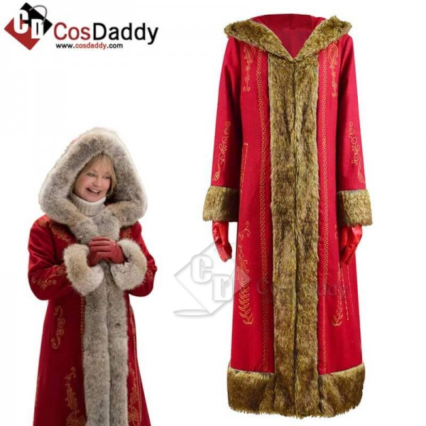 The Christmas Chronicles 2 Mrs. Claus Red Long Coa...