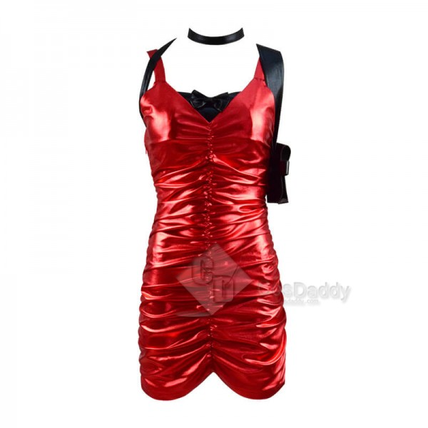 Best Resident Evil 2 Remake Ada Wong Red Dress Cosplay Costume For Sale