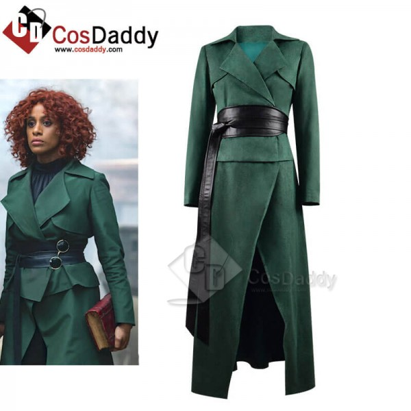 2020 TV The Watch Lady Sybil Ramkin Green Suit Out...