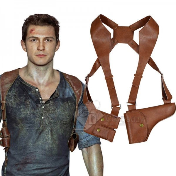 CosDaddy Uncharted 4 A Thief's End Nathan Drake Gun Holster Cosplay Prop