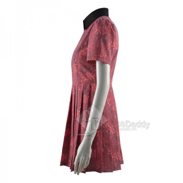 Doctor Who Claras Cute Red Dress Cosplay Costume CosDaddy