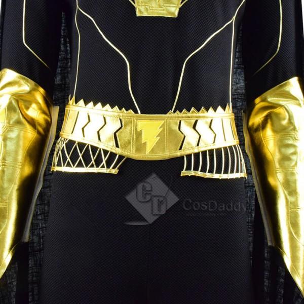 DC 2021 Movie Black Adam Teth Theo-Adam Battle Suit Cosplay Costume
