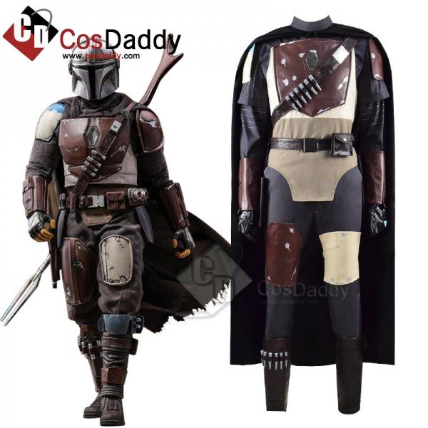 CosDaddy Star Wars The Mandalorian Cosplay Costume...