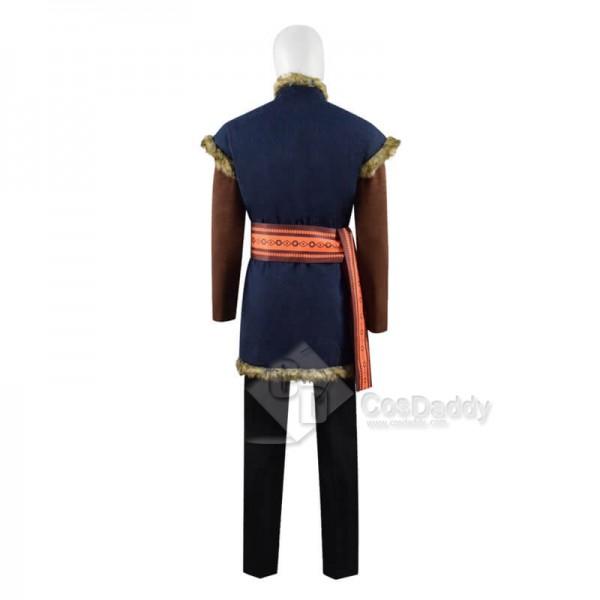 Disney Frozen 2 Kristoff Bjorgman Halloween Carnival Outfit Cosplay Costume