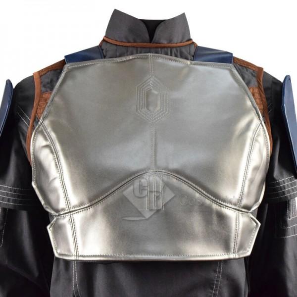 CosDaddy Star Wars The Mandalorian Bo-Katan Kryze Battle Suit Cosplay Costume Full Set
