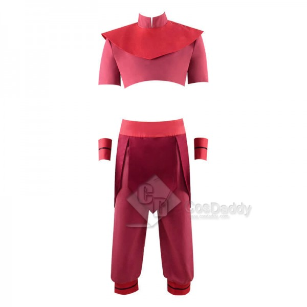 Avatar: The Last Airbender Ty Lee Kungfu Outfit Cosplay Costume