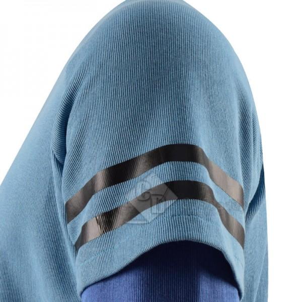 CosDaddy WandaVision Quicksilver Blue Flash Shirt Cosplay Costume