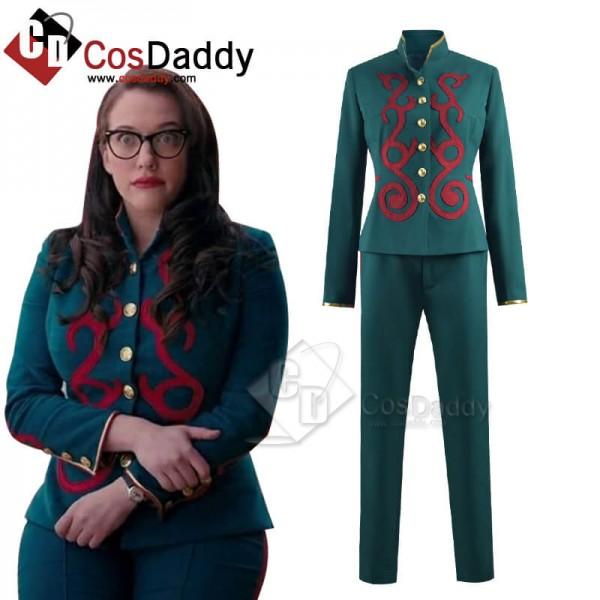 Wandavision Darcy Lewis Cosplay Costume Uniform Ou...
