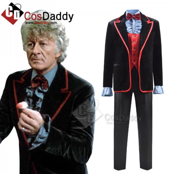 Doctor Who Green Death Jacket 3rd Third Doctor Wai...