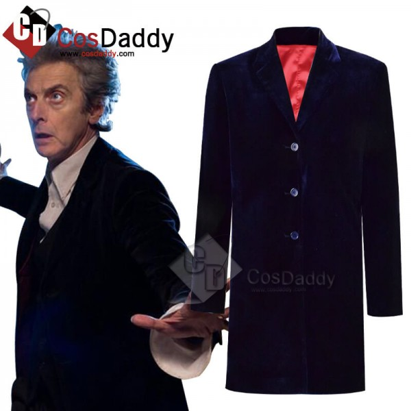 CosDaddy Doctor Who Twelfth 12th Doctor Navy Blue ...