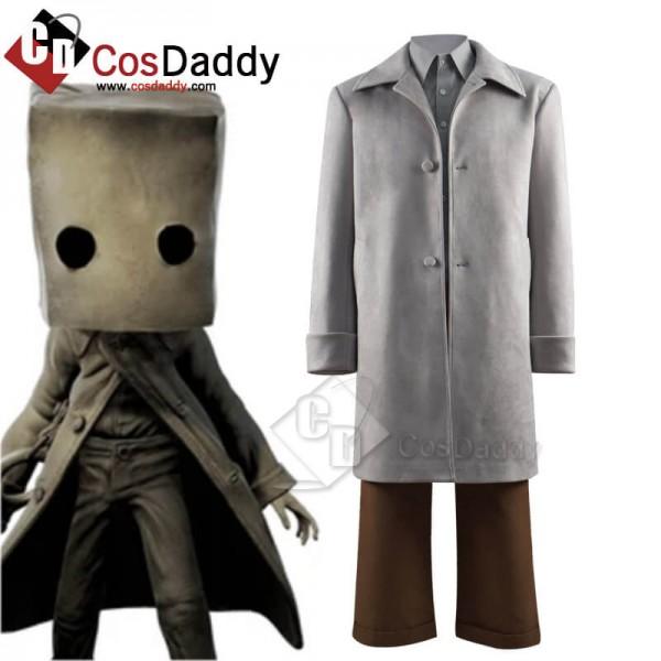 Little Nightmares 2 Mono Halloween Cosplay Costume...