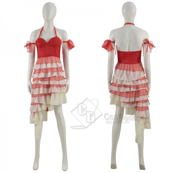 CosDaddy Harley Quinn Red Dress Plus Size The Suic...