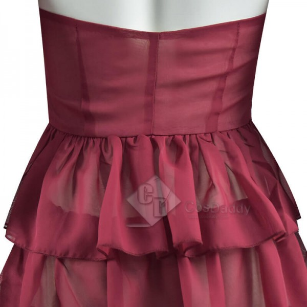 CosDaddy Suicide Squad Harley Quinn 2021 Movie Red Dress ...