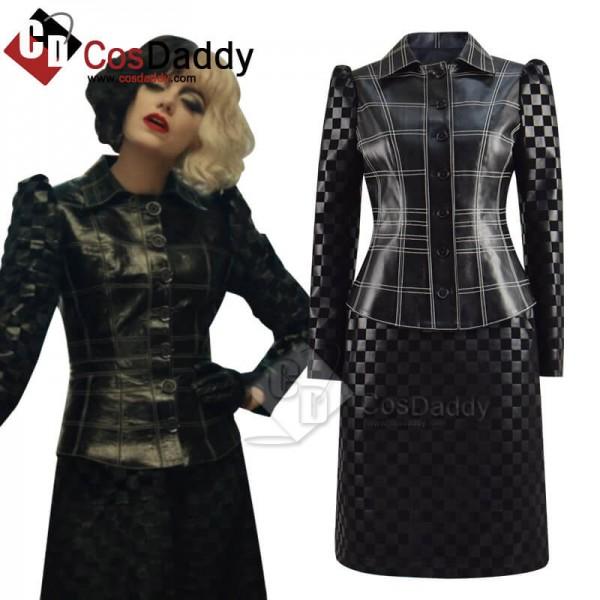 Cruella de Vil Cruella 2021 Outfits Emma Stone Lea...
