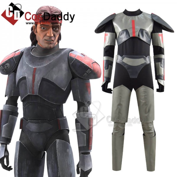 Star Wars The Bad Batch Clone Force 99 Cosplay Cos...