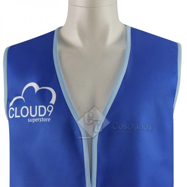 Cloud 9 Superstore Vest Jonah Blue Vest CosDaddy