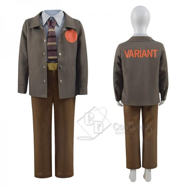 2021 Loki Time Variant Authority Cosplay Cosplay Kids Loki Jacket Coat Uniform