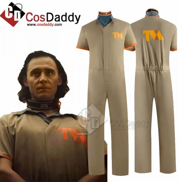 2021 Loki Costumes Loki Prison Outfit Uniform Kids...