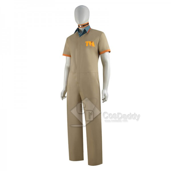 2021 Loki Costumes Loki Prison Outfit Uniform Kids Female Halloween Cosplay Costumes